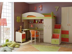 """Детская комната для двоих детей """"МИА"""" (Комбинация 5)"""