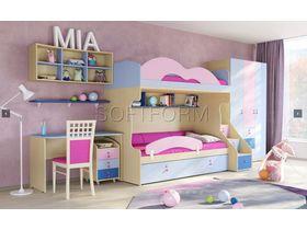 """Детская комната для двоих детей """"МИА"""" (Комбинация 7)"""