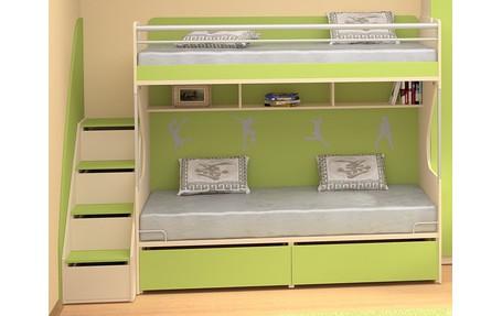 детская мебель для троих детей каталог и цены на Rumparu