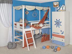 """Детская кровать-чердак """"Море"""""""