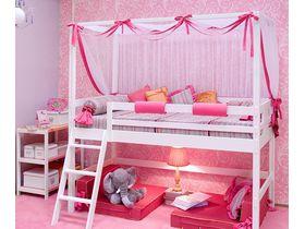 """Детская кровать-чердак """"Принцесса"""""""
