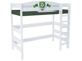 """Кровать чердак 180 см из массива бука """"Футбол"""""""