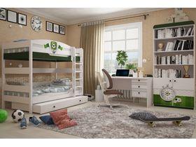 """Детская комната для двоих детей """"Футбол"""""""