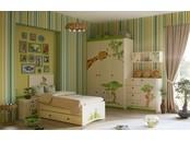 """Детская комната в бежевом или белом цвете """"Джунгли зовут"""""""