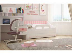 """Кровать-диван в комнату для девочки из коллекции """"Кошки"""" в нескольких размерах"""