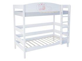 """Двухъярусная кровать в детскую 180 см """"La Princess"""""""