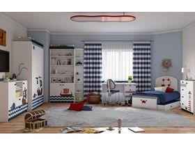 """Детская мебель для мальчиков """"Морская"""""""