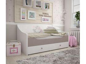 """Кровать-диван в розовых тонах из коллекции """"Парижанка"""""""