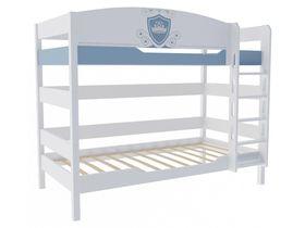 """Детская двухъярусная кровать 160 см из массива бука """"Шато"""""""