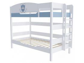 """Двухъярусная кровать 160 см и лестницей с торца """"Шато"""""""