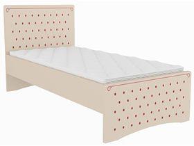 """Детская кровать """"Сиена"""" для девочек в бежевом цвете"""