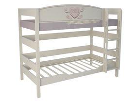 """Детская двухъярусная кровать 160 см из массива бука """"Capri"""""""