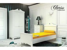 """Детская классическая мебель в белом цвете """"Clariss"""""""