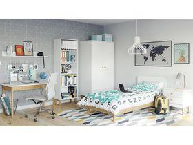 """Детская мебель в современном стиле с белыми фасадами """"Boca"""""""