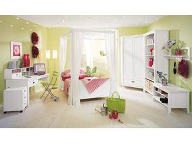 """Детская мебель из массива сосны """"Сиело"""" в белом цвете"""