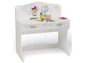 """Детский стол для школьника начального уровня с фотопечатью """"Молли"""""""