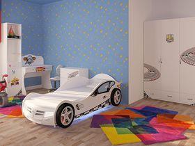 """Детская комната c кроватью машиной """"Sport"""" для мальчика"""