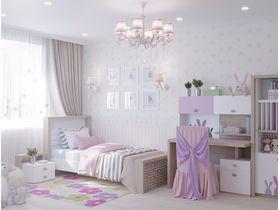 """Коллекция детской мебели """"Mix Bunny"""" в розовом цвете"""