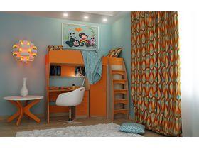 """Компактная детская комната """"КОЛИБРИ"""" с кроватью чердаком или двухъярусной кроватью"""