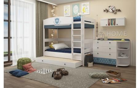 Ремонт детской комнаты (с изображениями) | Кровати, Двухъярусные комнаты,  Квартирные идеи | 287x455